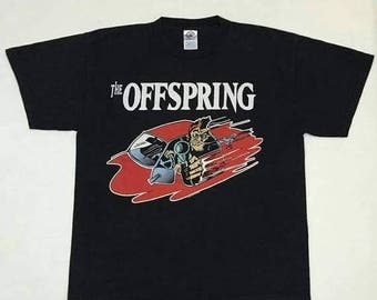 ON SALE 15% OFF Vintage 90s The Offspring Band tour shirt