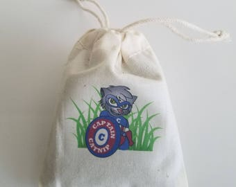 Cat Toy Catnip Filled Bag Reusable