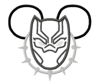Black Panther Mouse Head Inspired Shirt, Disney Vacation, Marvel Panther Mickey Mousehead Shirt, Panther Mickey Shirt, Magical Vacation
