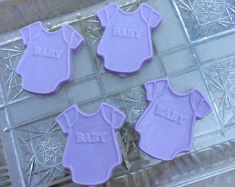 Baby Shower Soaps (10 favors) infant favors birthday shirts welcome party