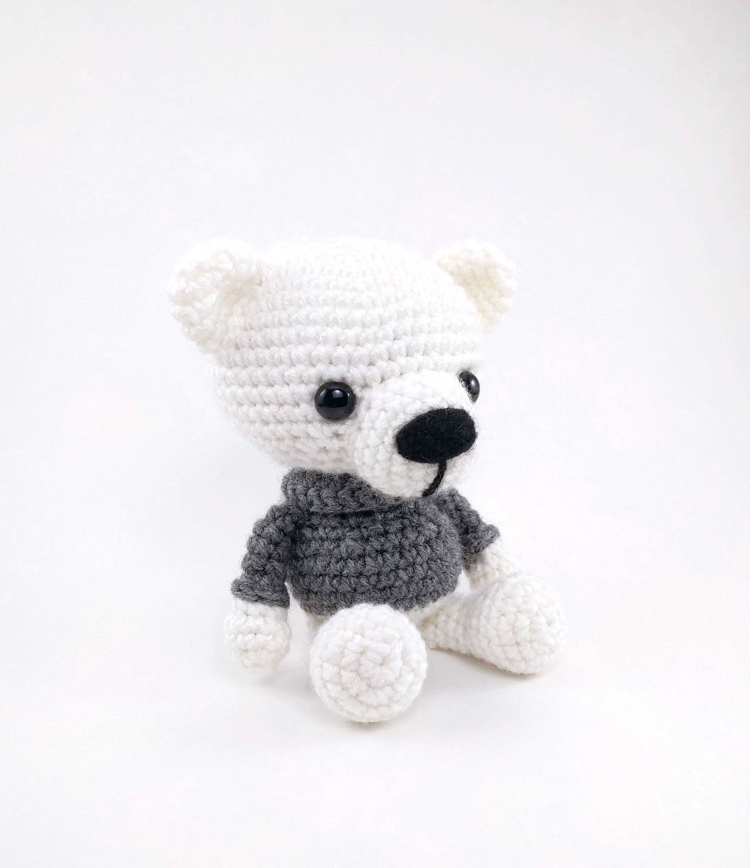 Pattern polar bears crochet polar bear pattern amigurumi polar pattern polar bears crochet polar bear pattern amigurumi polar bear crocheted polar bear pattern pdf crochet pattern dt1010fo