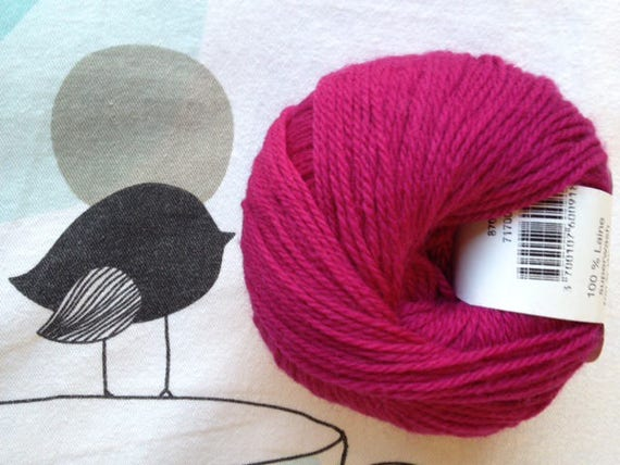 BB MERINO fuschia - Fonty made in hollow