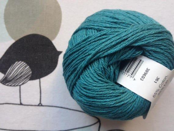 WOOL BOHEMIAN turquoize - FONTY
