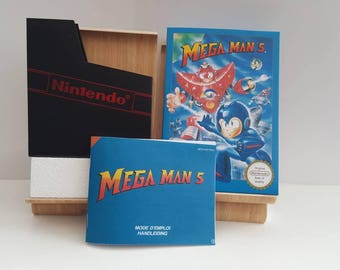 NES Mega Man 5 - Replacement Box No Game Included
