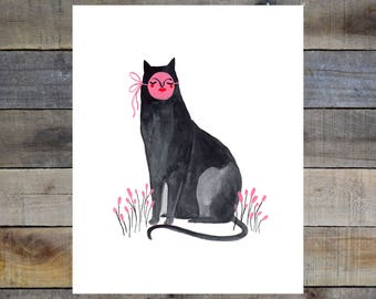 Liz Long Creature Comfort Print #3 8-10in Giclée Print