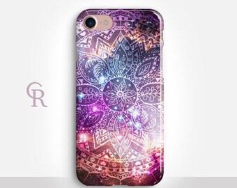 Mandala iPhone 8 Case For iPhone 8 iPhone 8 Plus - iPhone X - iPhone 7 Plus - iPhone 6 - iPhone 6S - iPhone SE - Samsung S8 - iPhone 5