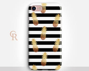 Pineapple Phone Case For iPhone 8 iPhone 8 Plus - iPhone X - iPhone 7 Plus - iPhone 6 - iPhone 6S - iPhone SE - Samsung S8 - iPhone 5