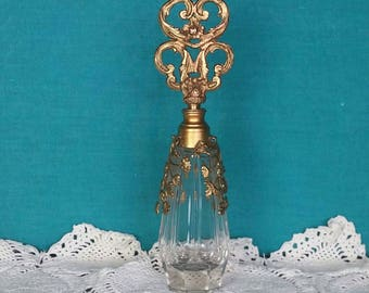 Beautiful French Ormolu Perfume bottle.
