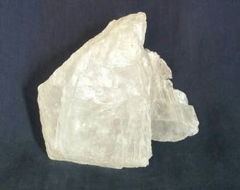 Selenite Quartz Crystal Home Decor / LARGE Crystal Gemstone Natural Raw Crystals Rock Mineral Gypsum / White Selenite Crystal Healing Stone