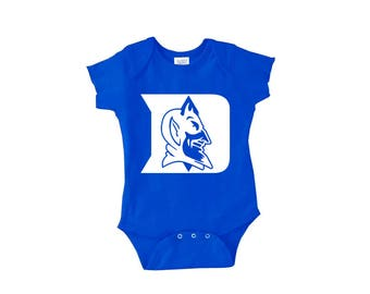 Duke Blue Devils Baby Bodysuit or Toddler Shirt - Blue