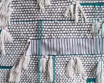 Modern Minimalistic Rope Weaving | Wandbehang | Tissagemural Wallhanging