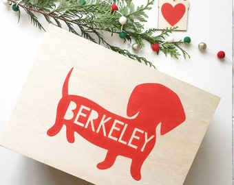 Doggy Christmas Box