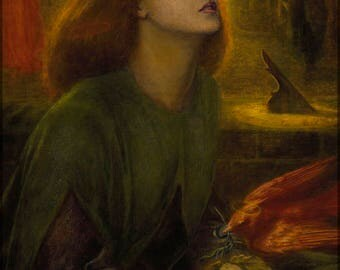 Poster, Many Sizes Available; Beata Beatrix Dante Gabriel Rossetti