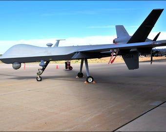 Poster Many Sizes Available 33D Special Operations Squadron Mq 9 Reaper Uav Drone