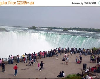 40% OFF SALE Poster, Many Sizes Available; Niagra Falls Horseshoe Falls 2