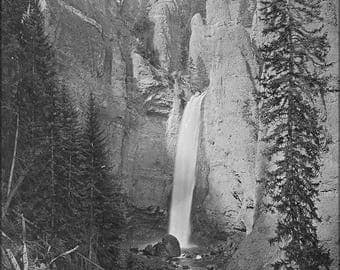 20% Off Sale - Poster, Many Sizes Available; Tower Falls Yellowstone National Park C1872