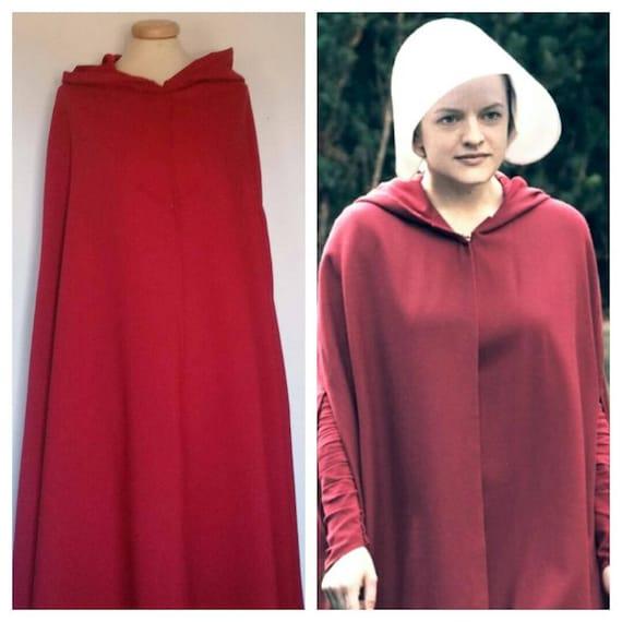 The handmaid's tale inspired cloak costume cosplay