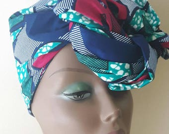 African print headwraps, African print scarve,Ankara headwrap,  African clothing headtie gift for her christmax gift ideal