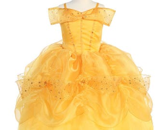 Belle Inspired Dress Beauty And The Beast Party