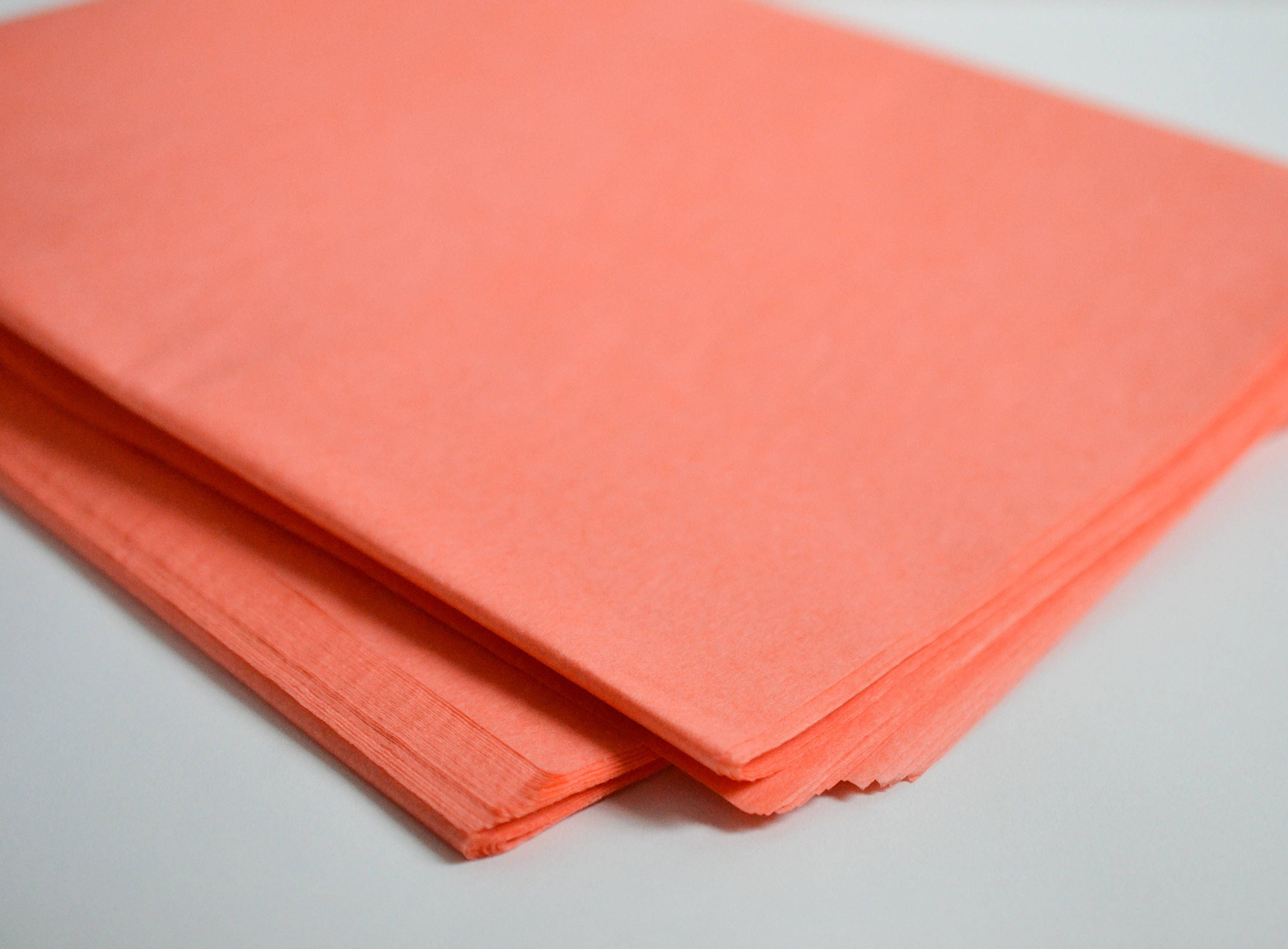 coral tissue paper Our coral tissue paper sheets are a perfect way to brighten gifts and packages these coral tissue paper sheets can be used to make flowers, centerpieces, and.
