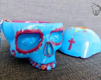 Home Skull, skull, vanity, skull, Skull Box Mandala Calaveras 12