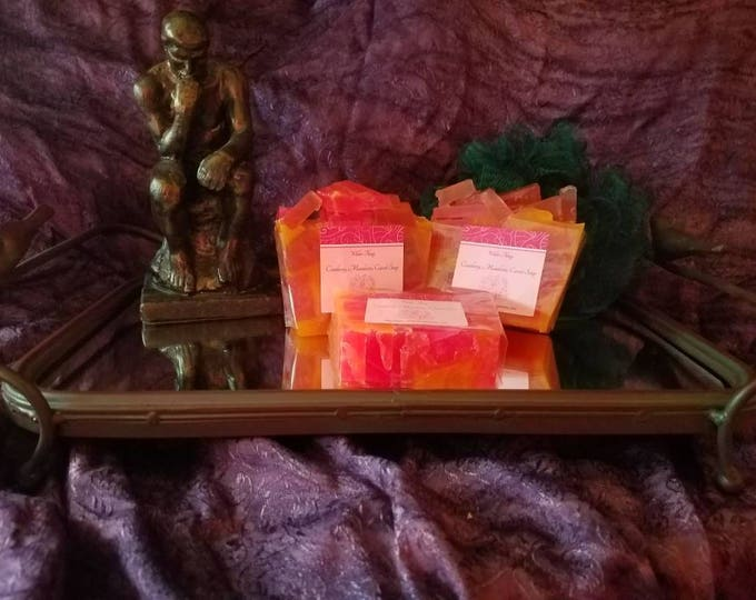 Cranberry Mandarin Carrot Bar Soap