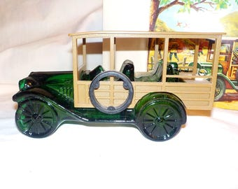 Avon 1923 Durant Star Station Wagon Men's Decanter, 1971-1973, Tai Winds After Shave.
