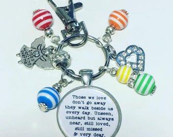 Bereavement keychain, Bereavement gift, bereavement keyring