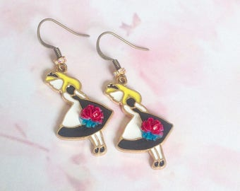 Alice dress earrings