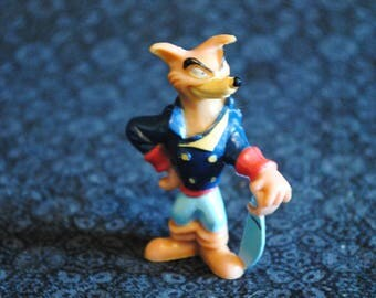 Kelloggs cereal Talespin Karnage plastic toy