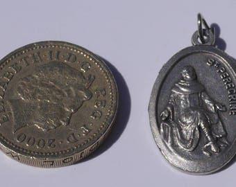 Saint Peregrine Religious Pendant
