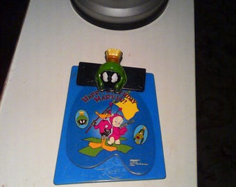 Marvin the Martian note pad Subway toy