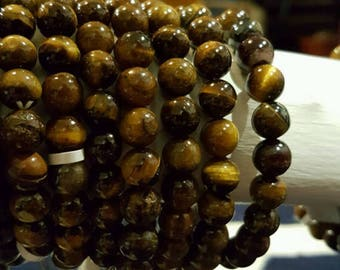 Yellow Tiger's Eye Protection Bracelet