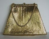 Purse Whiting Davis Purse Mesh Rhinestones Evening Bag