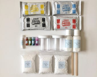 DIY Butter Slime Making Materials Kit ------ 18 items (not including the slime recipe)