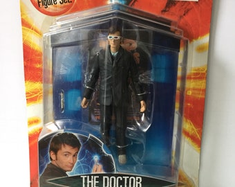 Vintage doctor who action figure the doctor new in the package