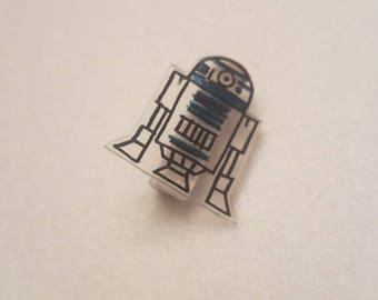 R2D2 style pin