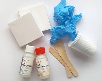 Resin8 1 to 1 Epoxy Resin Mini Painting Kit