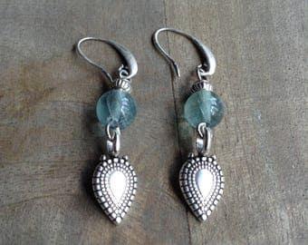 Bohemian earrings boho chic earrings gypsy womens jewelry boho chic jewelry hippie earrings rustic earrings drop earrings dangle earrings