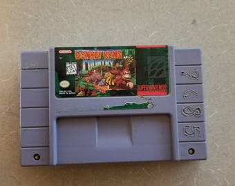 Donkey Kong Country Snes Super Nintendo