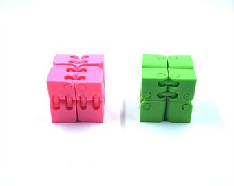Fidget Cube - Stress Relief - Fidget Spinner Box - Fidget Box - Spinner Fidget Cube - Fidget Toy - Cube Fidget Toy - 3D Printed - FunOrders