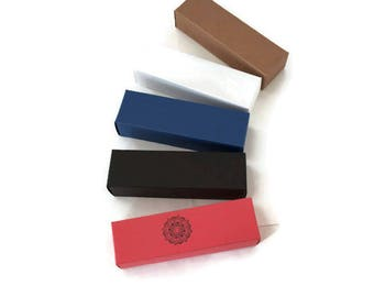 Fold flat cosmetic box, lipstick box, small treat box, small favour boxes, assorted gift boxes