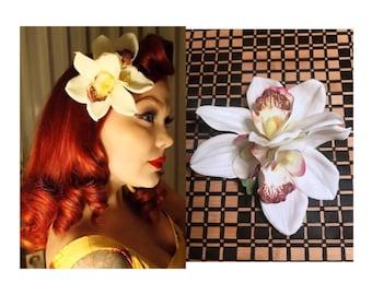 Tiki pinup hair flower