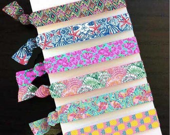 Lilly Inspired Hair Ties