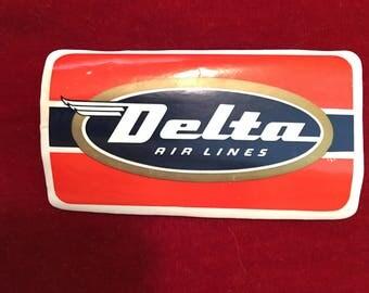 Vintage Delta Airlines Decal