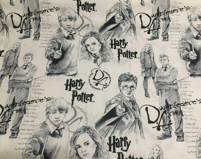 "Valance, Curtain Panel, Matching Pillow ""Harry Potter"""