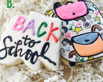 LOCAL Back to School Cookies