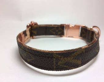 Louis Vuitton Dog Collar Etsy