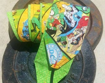 DC Comics Superheroes Crossfit Wrist Wraps | Ready to Ship | Weightlifting | Lifting | Strength Training | WOD | Reversible