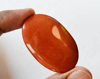 80% Sale Mookaite Jasper 64 Ct Beautiful Natural Gemstone Cabochon Oval Shape 47x29x6 MM AC1524